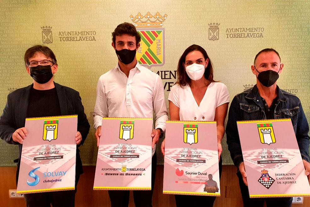 IV Festival Internacional de Ajedrez 'Ciudad de Torrelavega'
