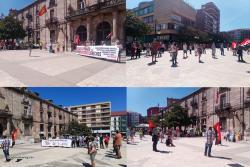Concentración de Cantabria por lo Público y Sin Recortes en Torrelavega