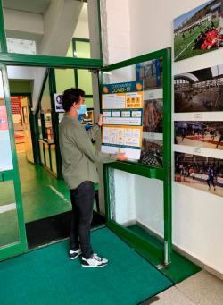 Comienza la reapertura de las instalaciones deportivas de Torrelavega
