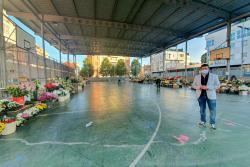 Abierto al público el Mercado de las Flores en La Llama