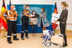 El Gobierno de Cantabria realiza test de anticuerpos del COVID-19 a sus bomberos y voluntarios de protección civil