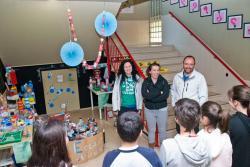 Unos 150 escolares participan en la 'Ecoliga juvenil' de Reocín