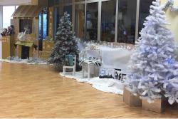 El encendido del alumbrado inicia la Navidad en Suances